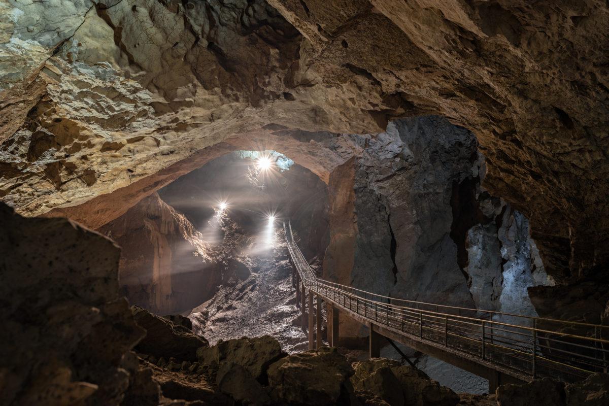 Абхазия. Новый Афон. Пещера