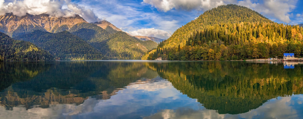 Абхазия. Озеро Рица