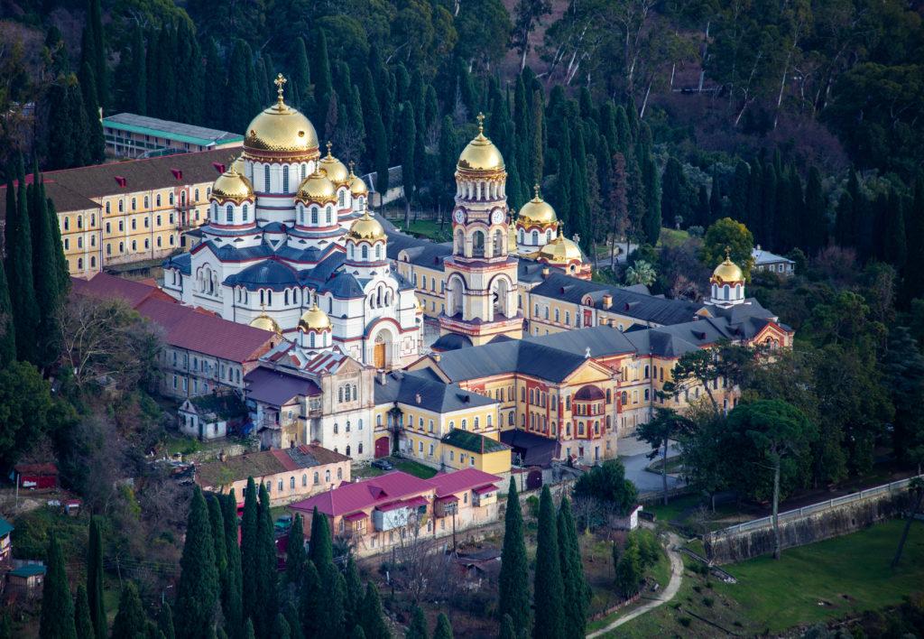 Абхазия. Новый Афон. Монастырь